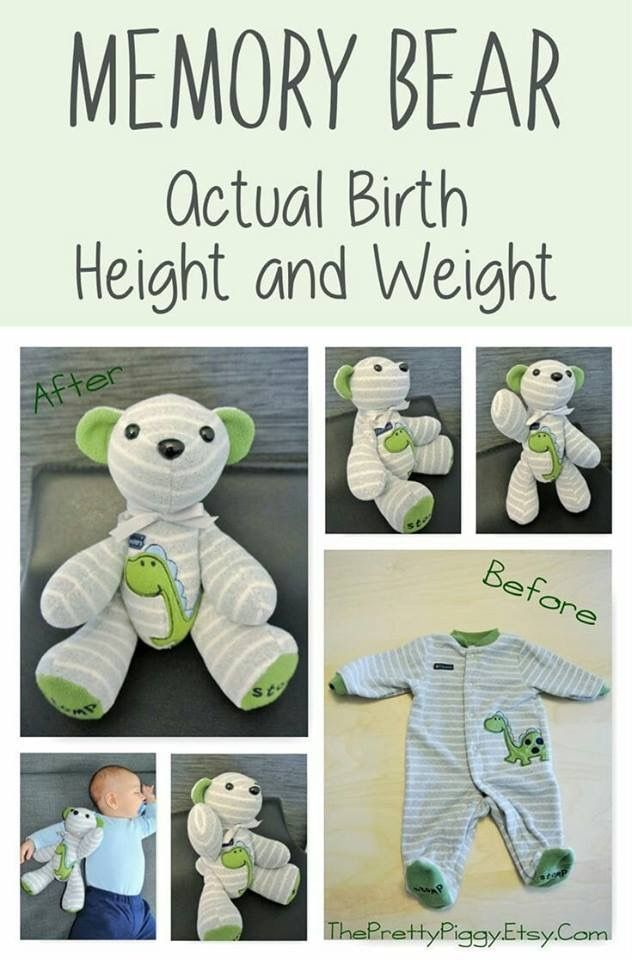 Memory Bear pattern, complete instructions, PDF fo