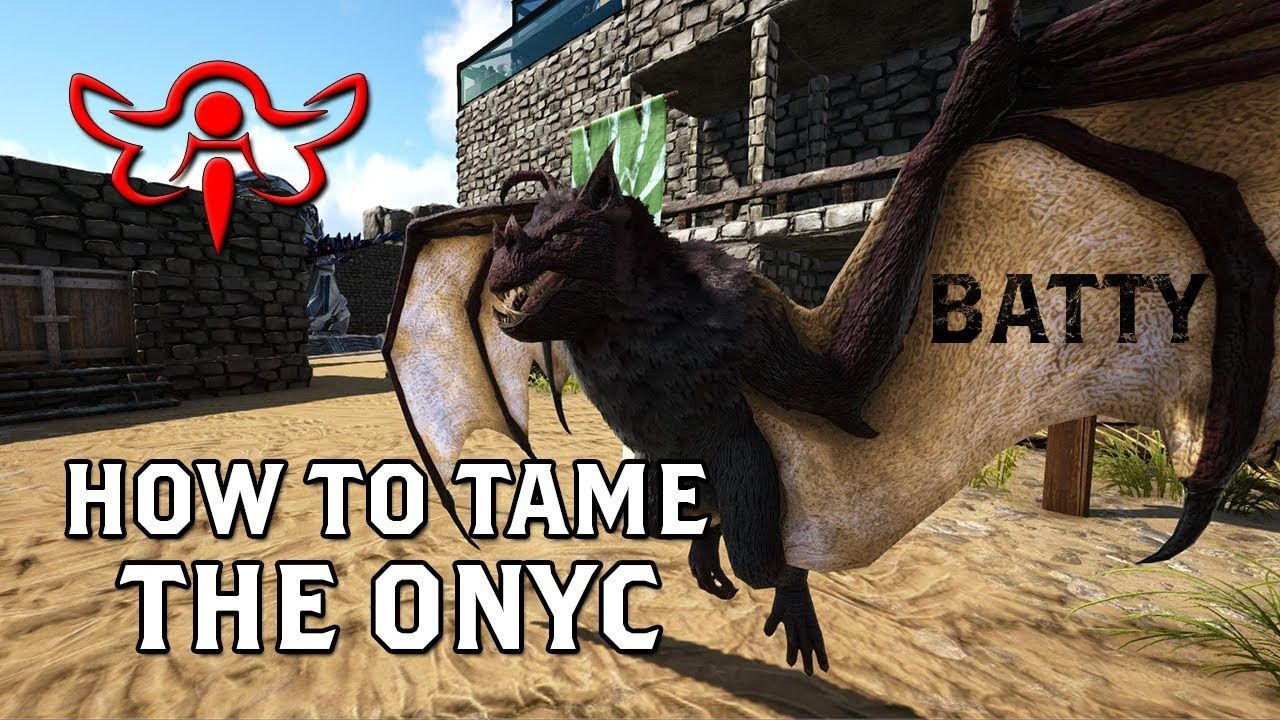 Ark Survival Evolved How To Tame The Onyc Ark Survival Evolve