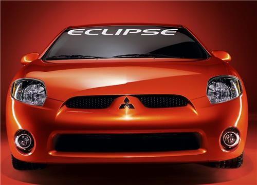 Mitsubishi Eclipse Windshield Decals customstickershop.com Windshield Decals