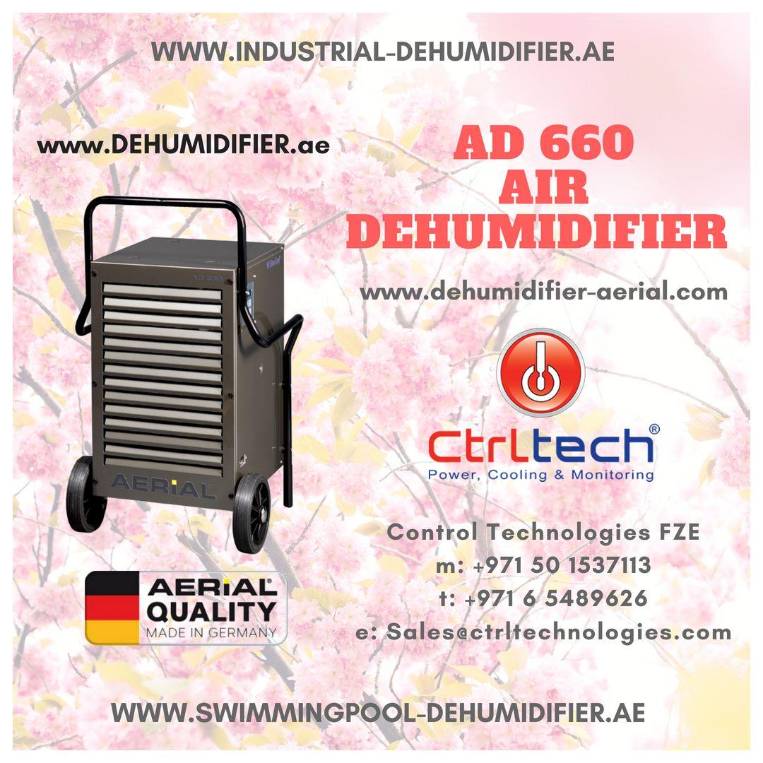 AD 660 Air Dehumidifier Supplier in Dubai, UAE