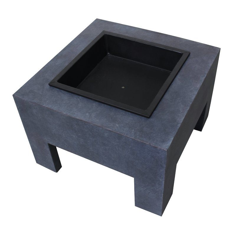 Monolith Steel Wood Burning Fire Pit | Wood burning fires ...