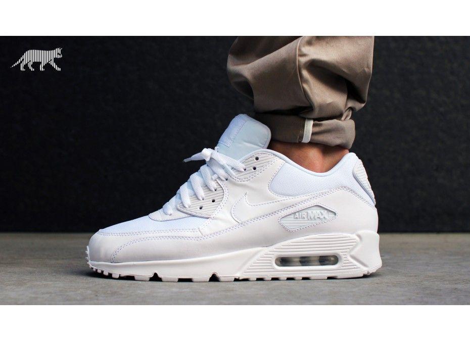 90S Air Max White