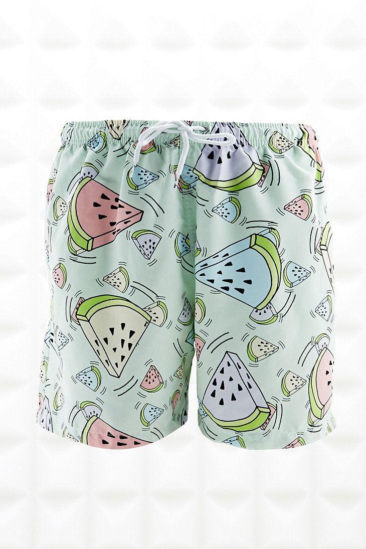 ed2f157a9b Franks Swim Shorts in Watermelon Print | conversational prints ...