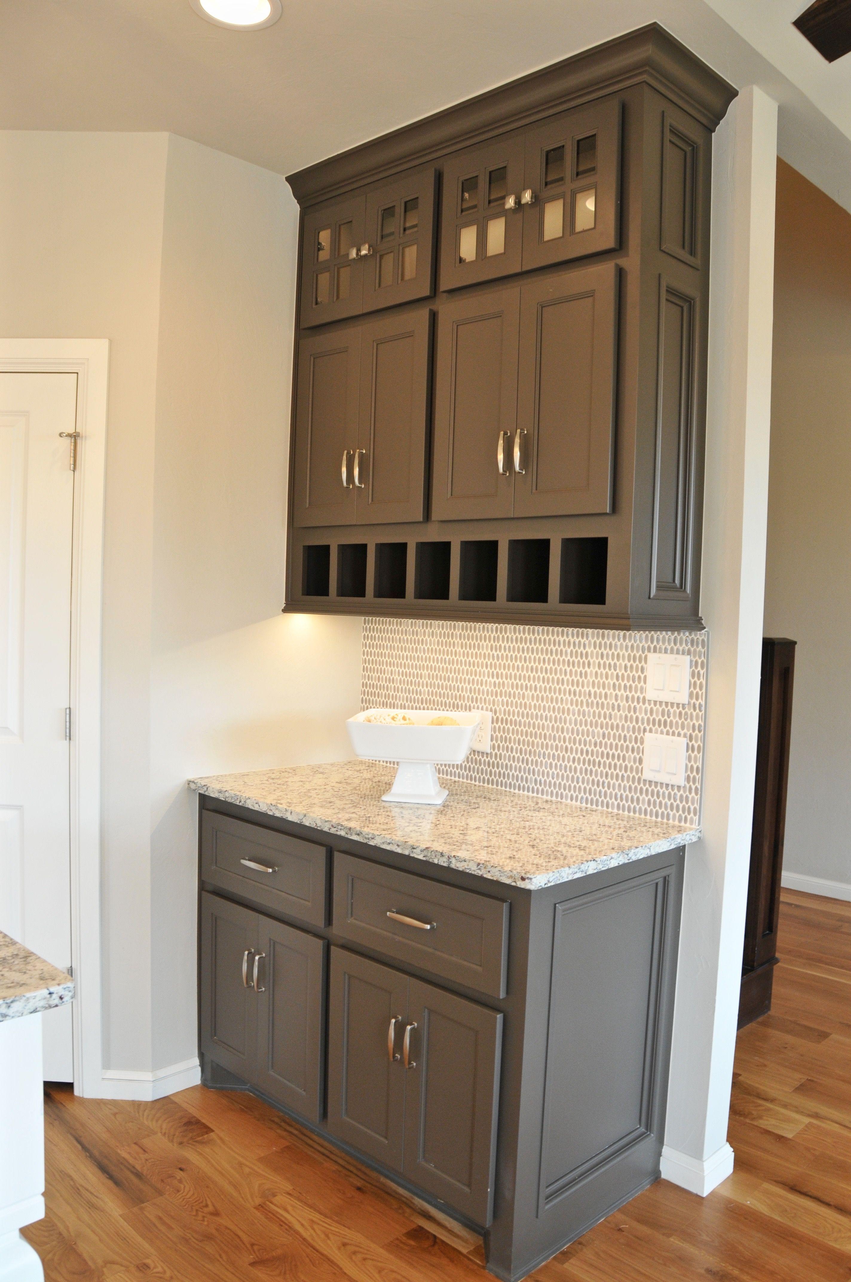 Kitchen Coffee Bar Cabinets