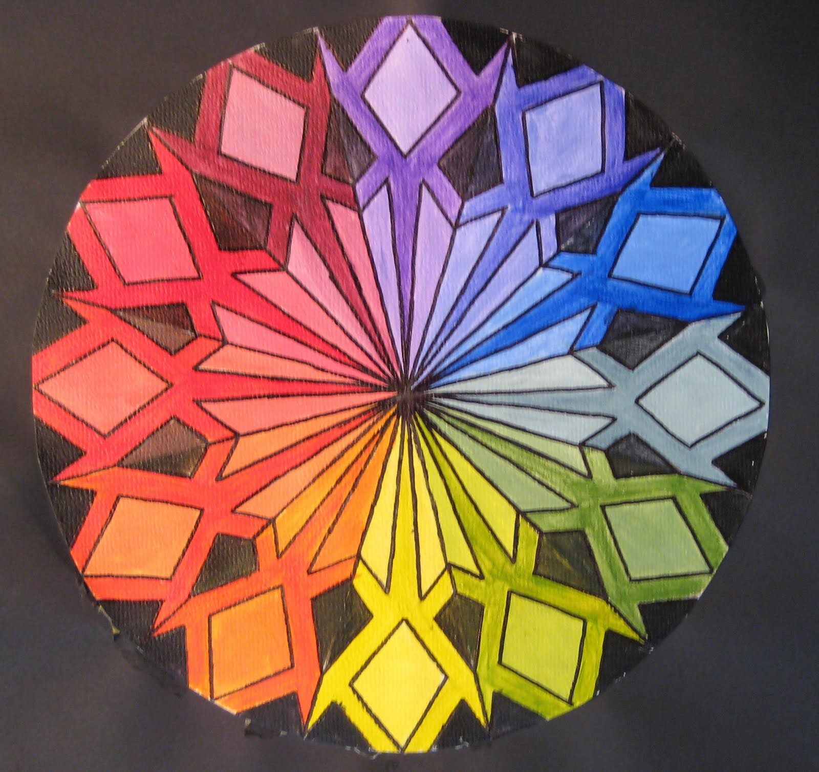 Cool Color Wheel Ideas adventures of creativity.: september 2010 | high school art