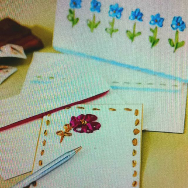 Embroidery stationary