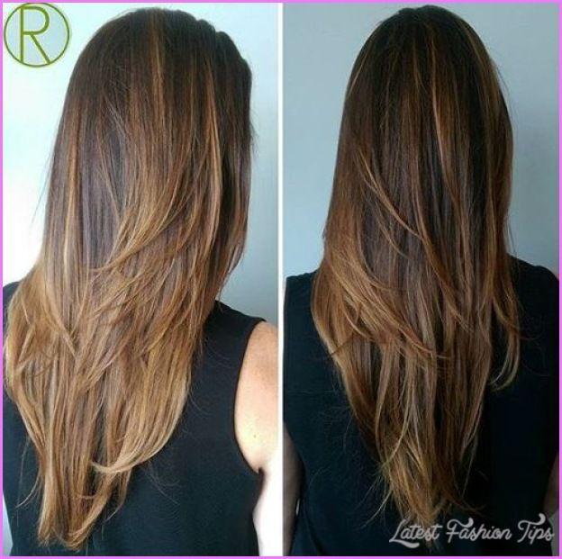 Nice Long Haircut Hair Colors Pinterest Long Haircuts