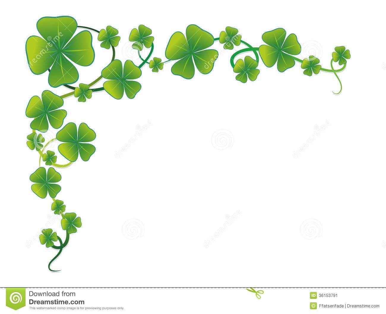 hight resolution of 4 h clover border stock image cloverleaf