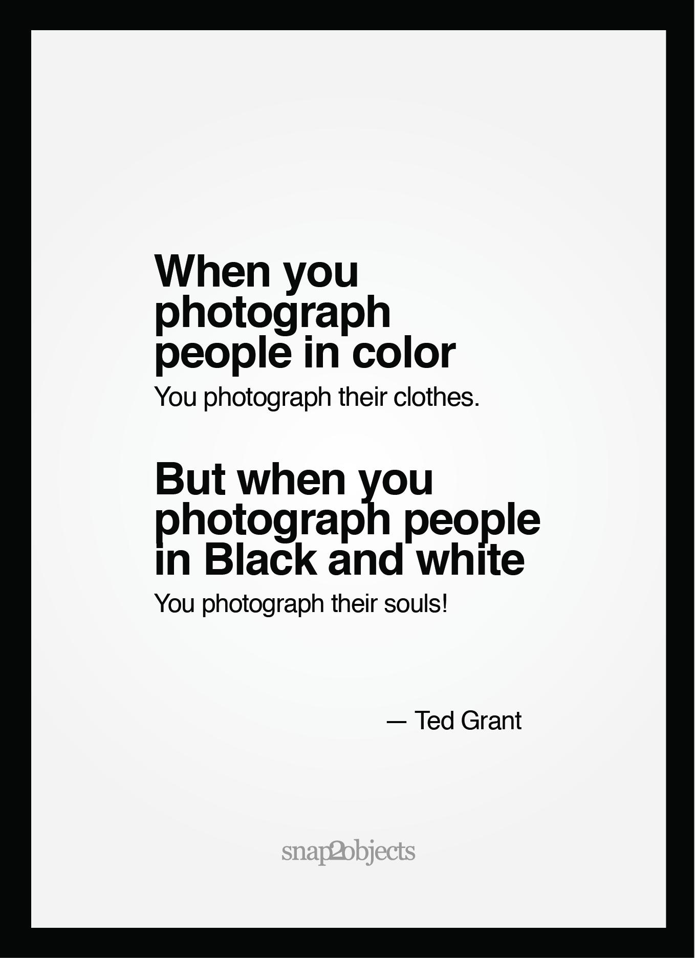 Color Vs Black And White