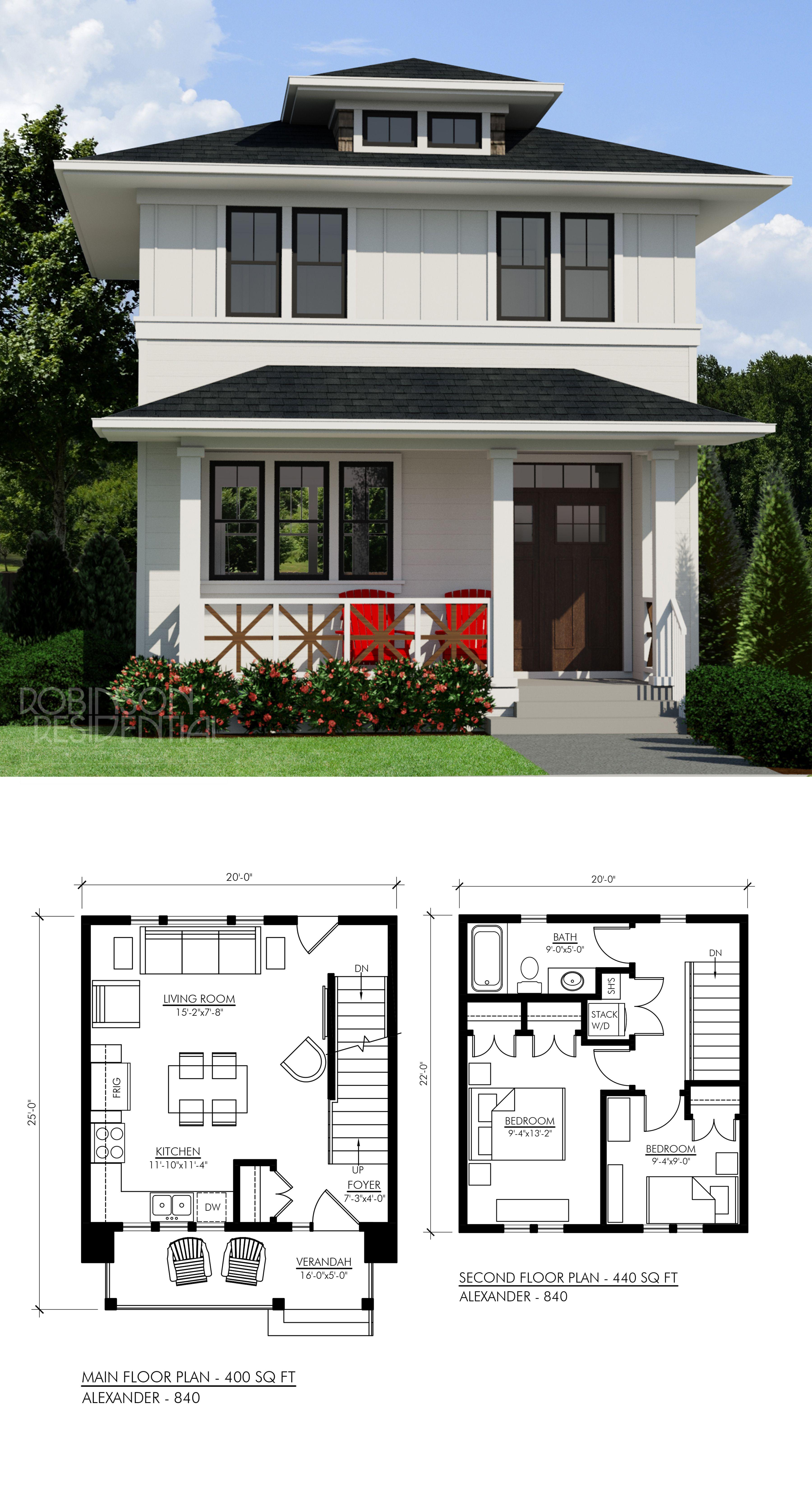 Modern farmhouse alexander also best images small house plans tiny rh pinterest