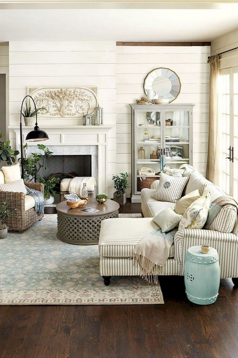 38 Stunning Vintage French Country Living Room Ideas Farmhouse Decor Living Room Farm House Living Room French Country Living Room