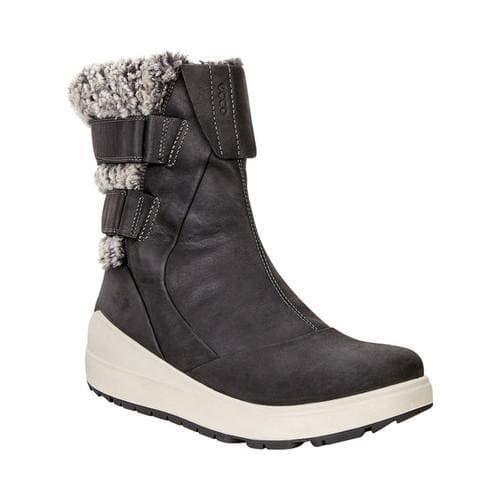 857b5cf2cb Women's ECCO Noyce Lite Snow Boot Black Cow Oil Nubuck | Shoes ...