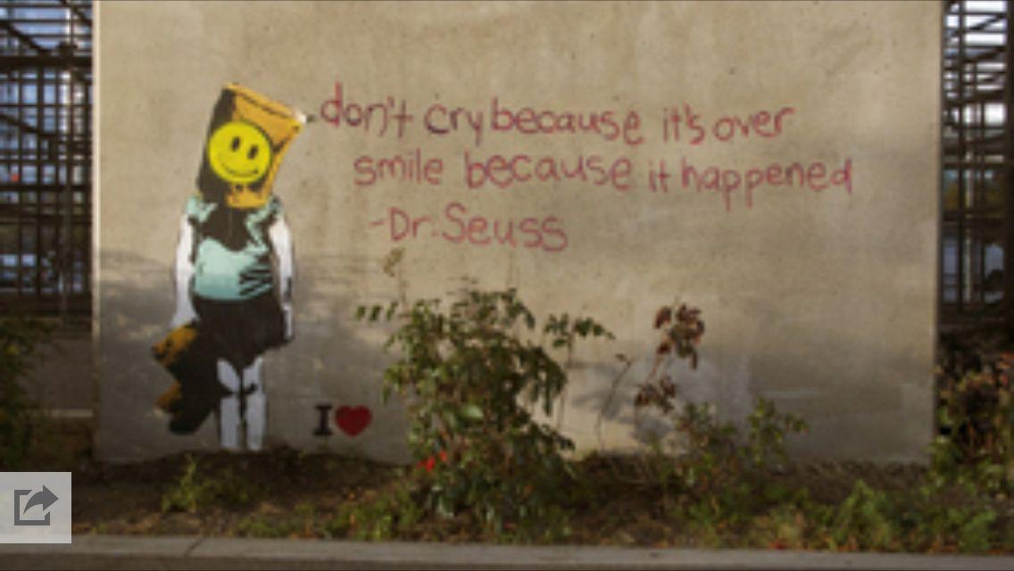IHeart street art in Vancouver