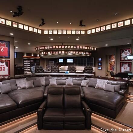 A Gentleman S Guide To Styling A Man Cave Man Cave Home Bar Sports Man Cave Ultimate Man Cave