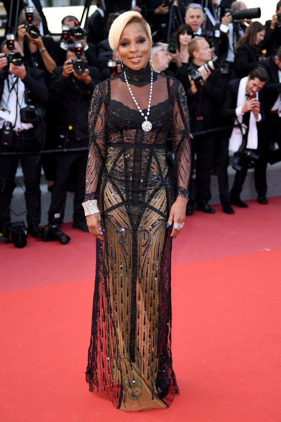 6d7461238bf The Major Red Carpet Moments at Cannes 2017  Rihanna