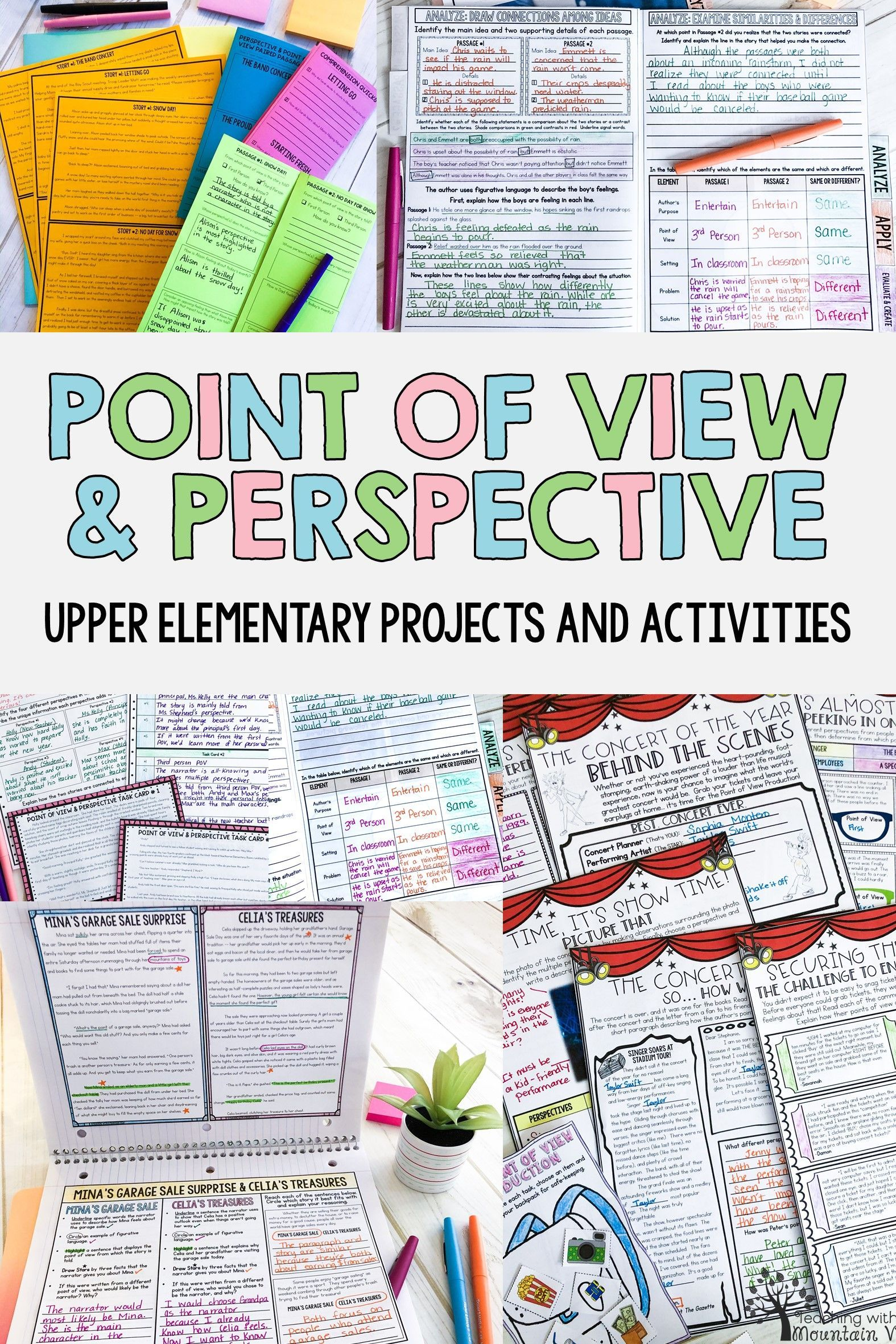Teaching Point Of View In