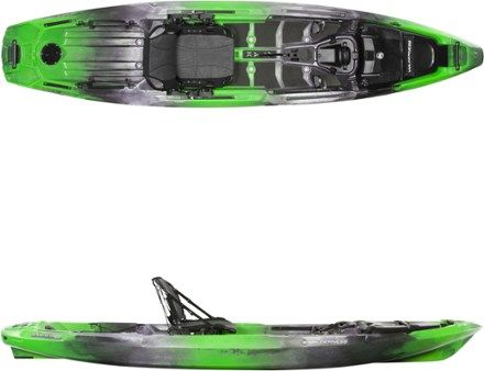 Wilderness Systems A T A K 120 Sit On Top Kayak Sonar 12 Ft