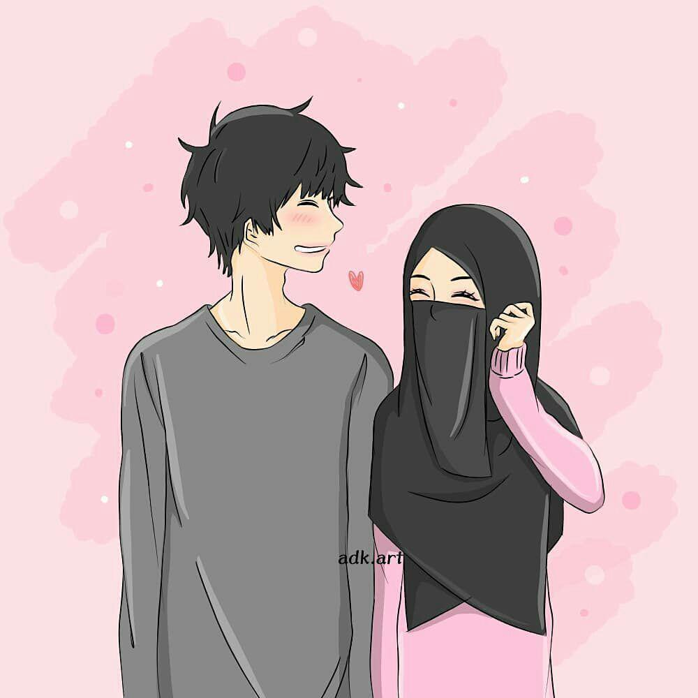 Gambar Muslimah Gambar Kartun Gambar Kartun