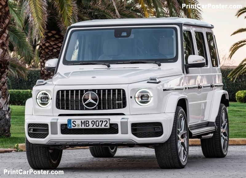 Mercedes Benz G63 Amg 2019 Poster With Images Mercedes Benz