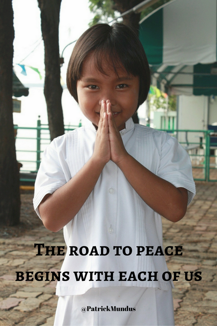 The road to #peace begins with each of us...
