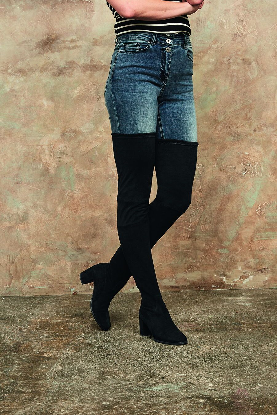 14b5471a4c8b Long Tall Sally Cordelia Otk Sock Boot