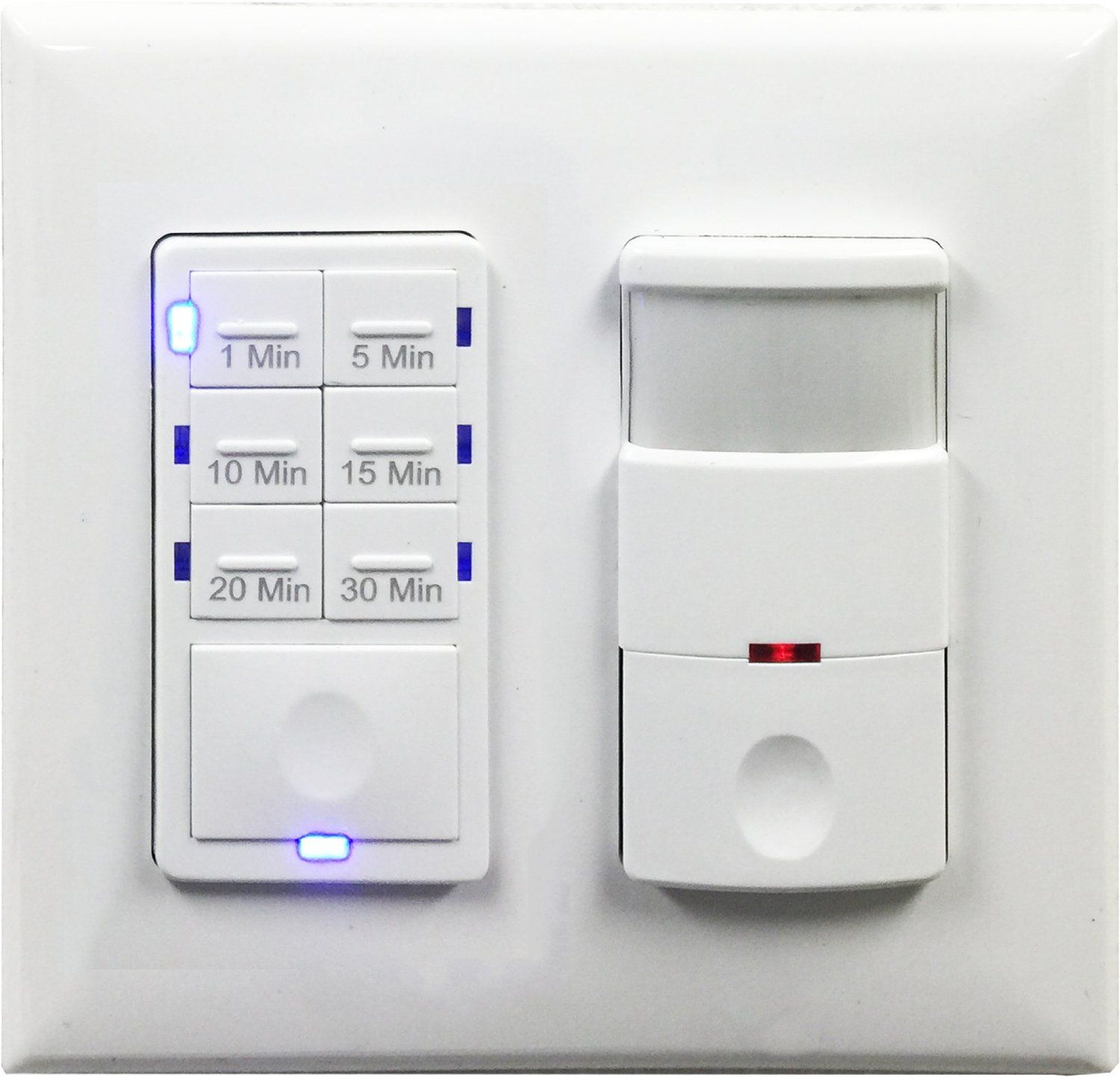 TOPGREENER TDOS5HET06A Bathroom Fan Timer Switch and