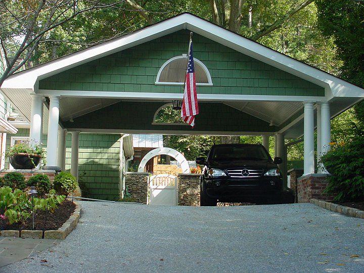 Car Port Of 22 Brookhaven Carport Addition Home Services