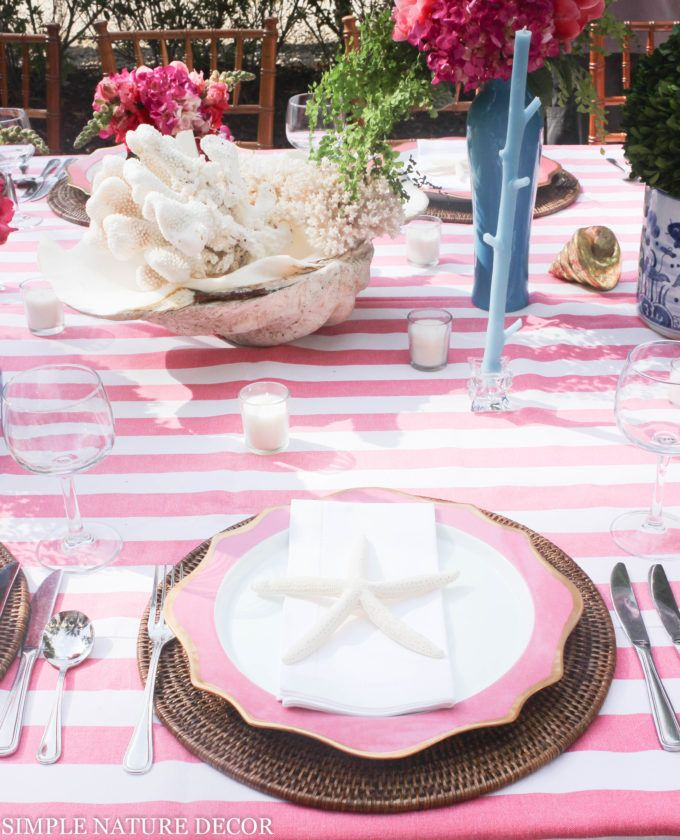 COASTAL LIVING TABLE FOR TWENTY | Nature decor, Outdoor parties and ...