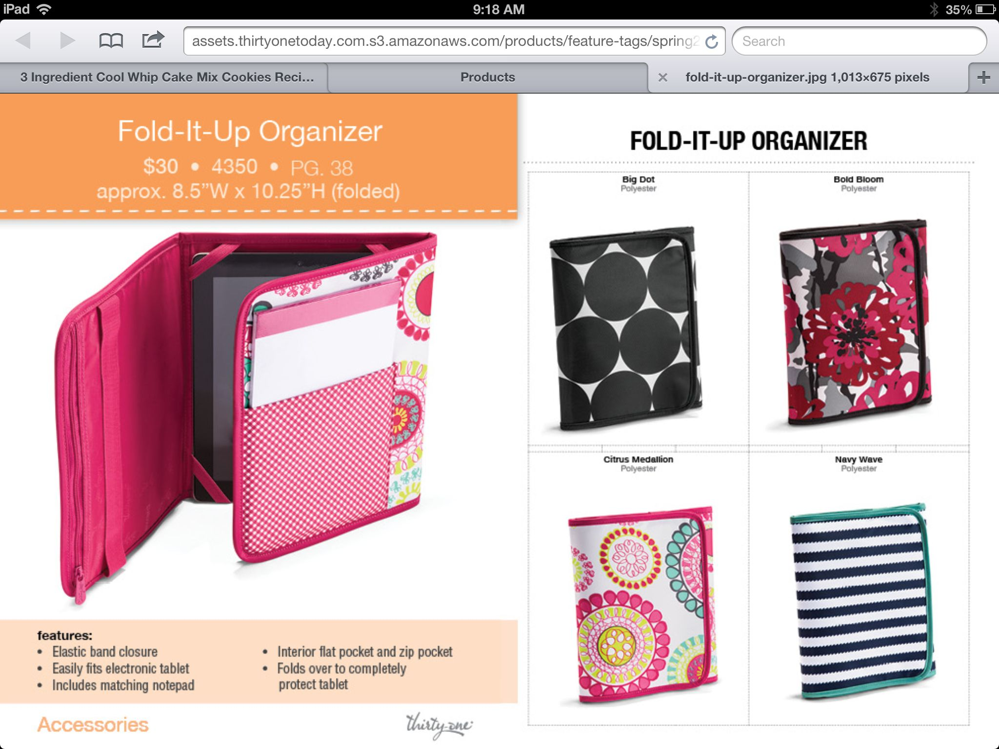 Fold It Up Organizer Thirty One 3 Thirty One Bags Thirty One