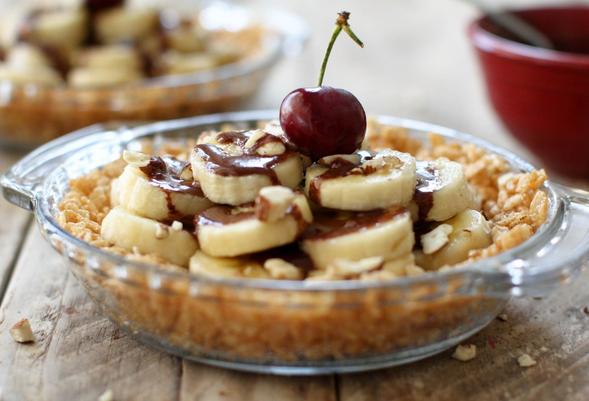 Pastel rápido de plátano y chocolate | #Receta de cocina | #Vegana - Vegetariana ecoagricultor.com
