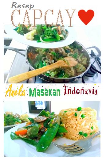Cara Membuat Capcay Lezat Bergizi Bahan Bahan 3 Buah Bakso Iris2 Tipis 2 Sosis Iris2 3 Lembar Sawi Putih Iris2 1 Ikat Sawi Hi Food Recipes Indonesian Food