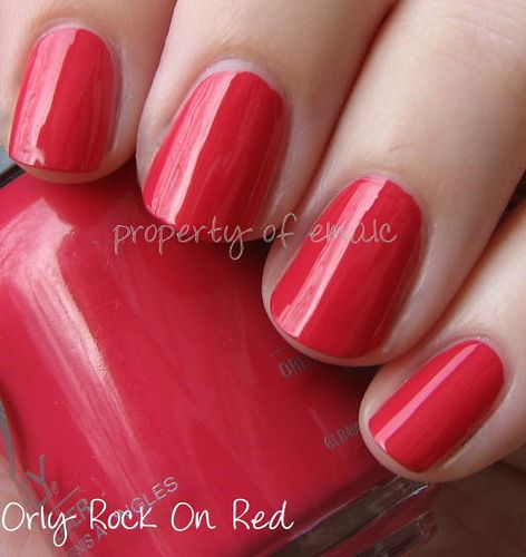 Orly Rock-On Red [C39]