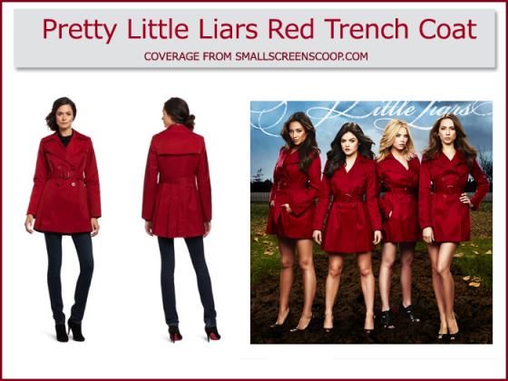 Who Is The Red Coat In Pretty Little Liars