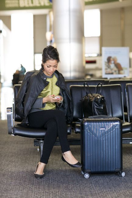 Travel Journal :: Airport style & Packing tips