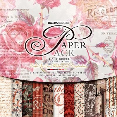 27 hojas decorativas de papel, varios diseños #4   Hojas decorativas ...