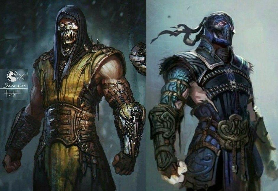 Scorpion Sub Zero Mortal Kombat Memes Mortal Kombat Art