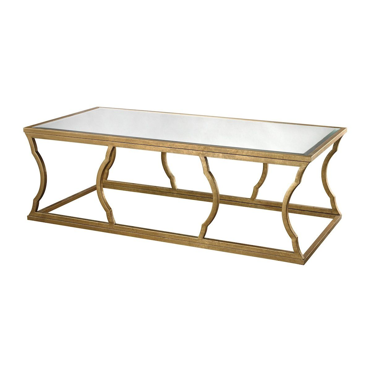 Metal Cloud Coffee Table by Dimond Home