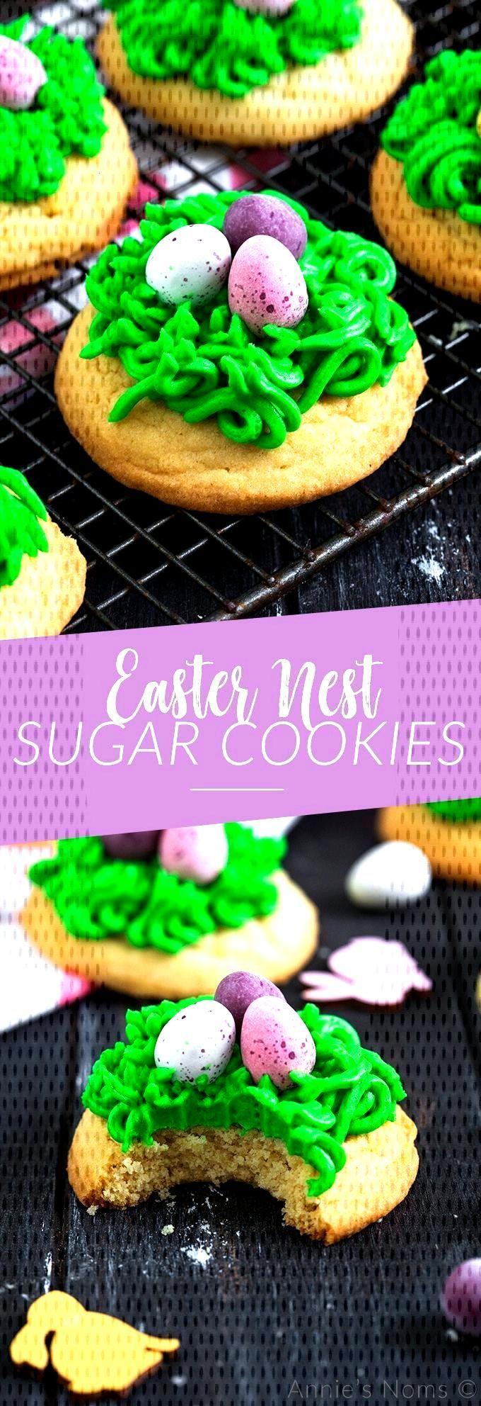 Easter Nest Sugar Cookies Easter Nest Sugar Cookies ,