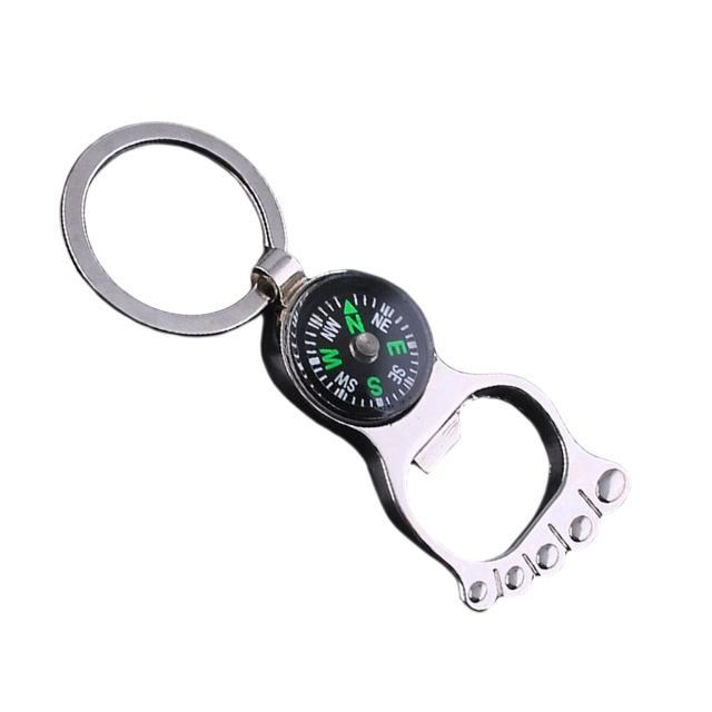 Vintage Compass Keychains Vintage Compass Key Chain Rings Silver Man