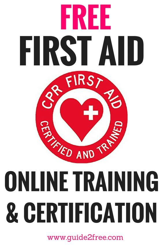 FREE Online First Aid Training Courses #firstaid