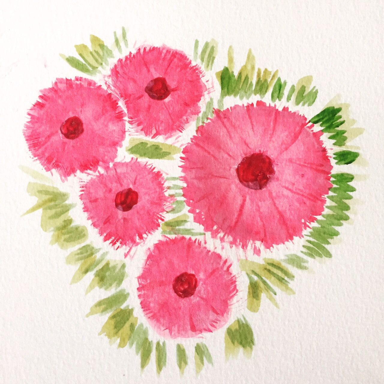 Day 69 of the 100 Day Project #water #color #colour #flowers