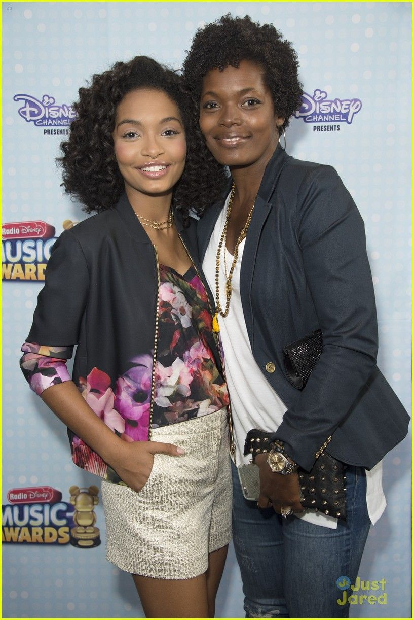 Yara Shahidi & Mom Keri Family Love Celebrity Moms Mother Child Reunion