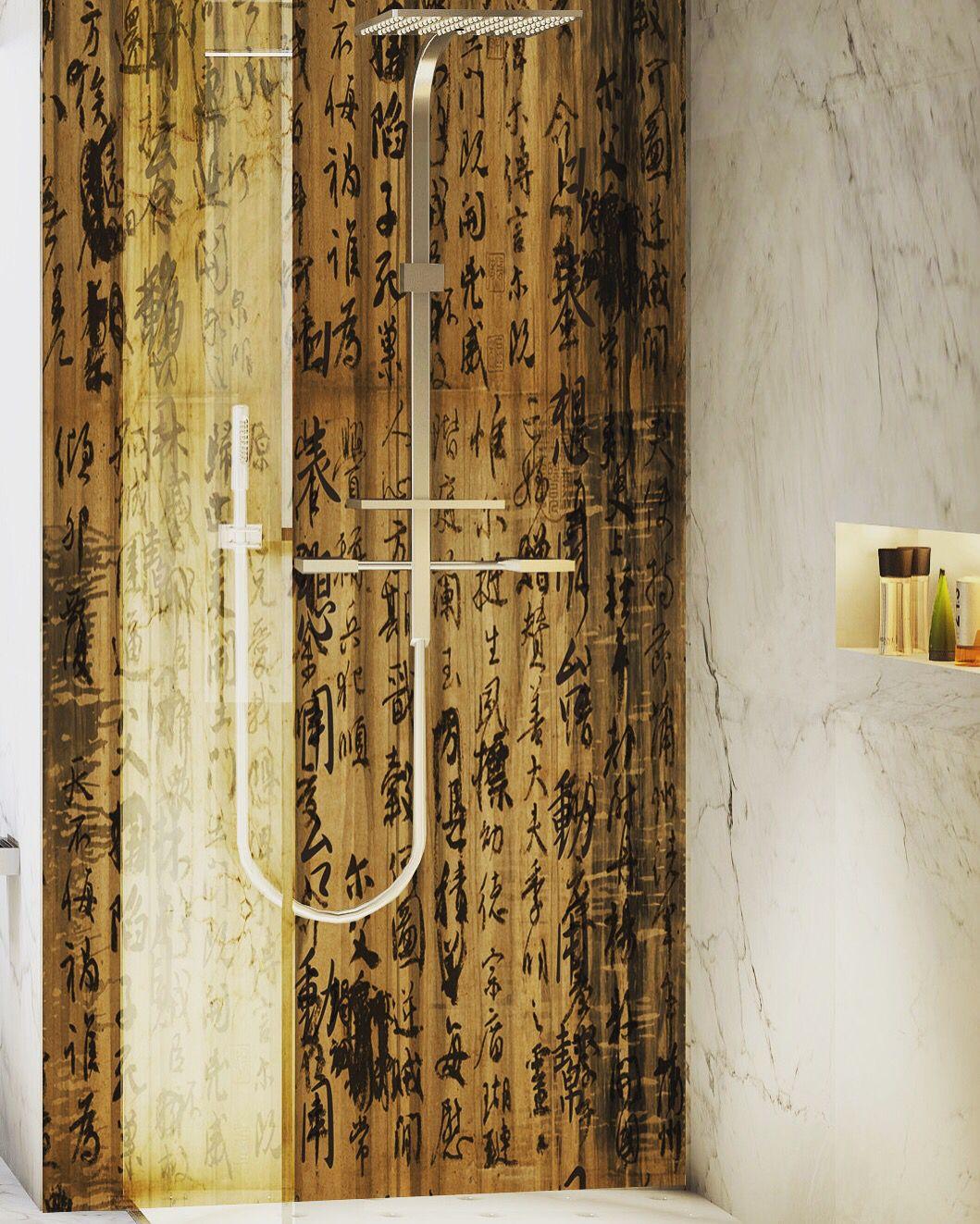 Waterproof art panels for bathrooms and wet areas bathroom