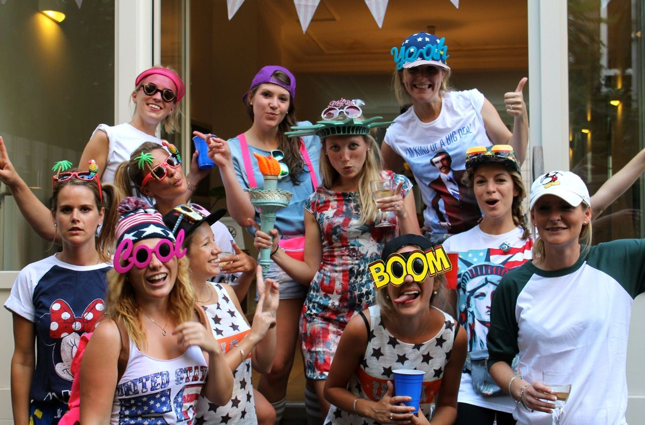 America Inspired Hen Party Theme For A Night Out