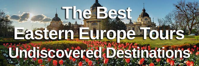 Undiscovered destinations europe