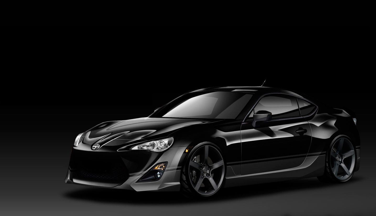 Check this elegant 2013 black scion fr s