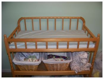 diy changing table pad and changing pad cover - Thank you!