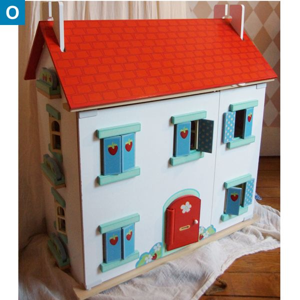 maison de poup es en bois the toy van une occasion cote. Black Bedroom Furniture Sets. Home Design Ideas