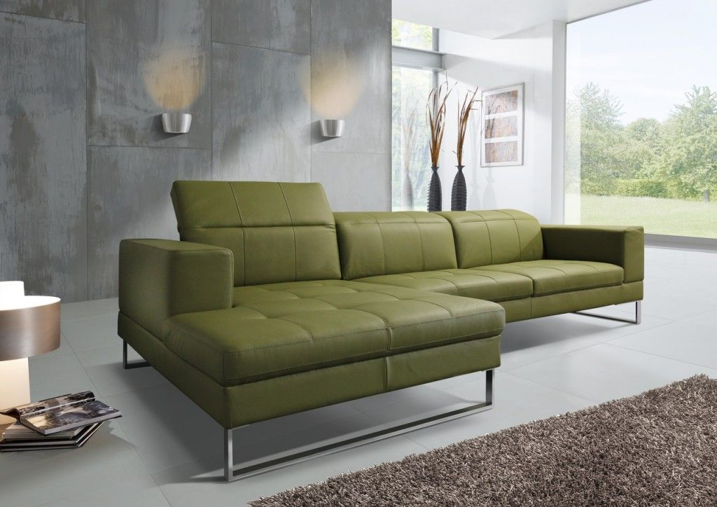 canape-sr-andy-cuir-vert-olive-angle-chaise-longue-design - design sofa moderne sitzmobel italien
