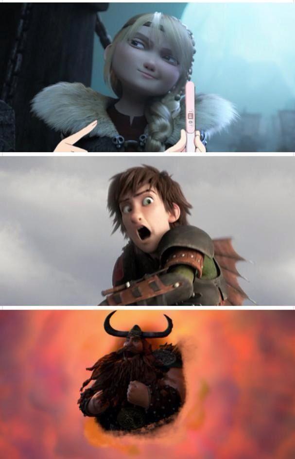 Как приручить дракона смешные картинки